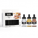Acrylic Ink Iridescent 3-set 30 ml