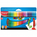 Color Peps 24 Wax Crayons