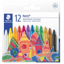 Noris Club wax crayons 12-set