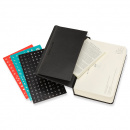 Calendar 2021 Daily Desk Hardcover Pocket Black