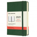 Calendar 2021 Daily Hardcover Pocket Green