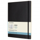 Calendar 2021 Monthly Softcover XL Black