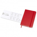 Calendar 2021 Weekly Hardcover Pocket Red