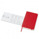 Calendar 2021 Weekly Horizontal Softcover Pocket Red